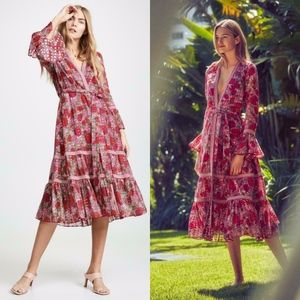 Alexis Marcas wrap dress